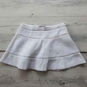 Banana Republic White Mini Skirt Size 6